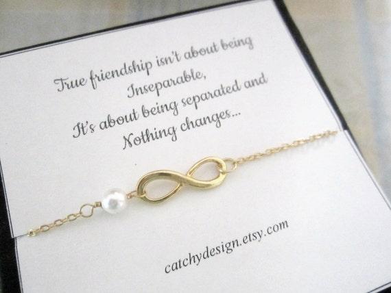 Infinity armband mit freundschaft zitat besten freund for Armband fa r beste freundin