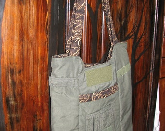 Lawrence Flightsuit Purse- Wine print