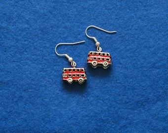 Double decker earrings or pendant