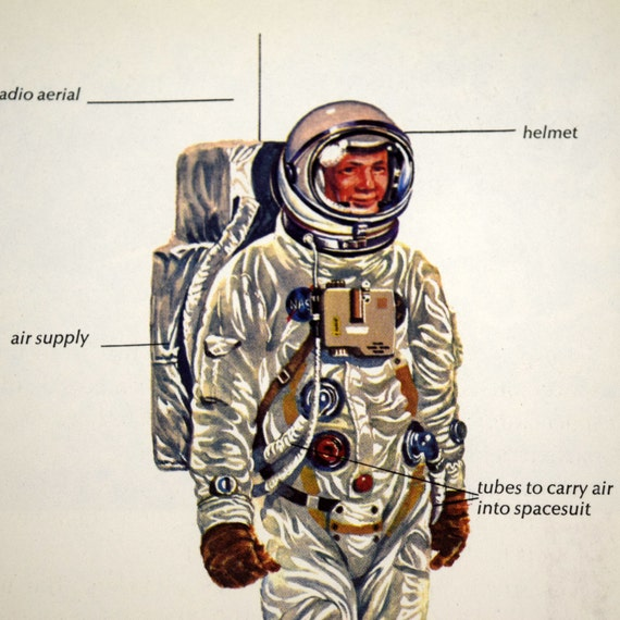 Vintage Astronaut Drawing | www.imgkid.com - The Image Kid ...