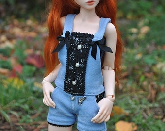 Narae, Slim MSD jeans clothes. Denim overalls