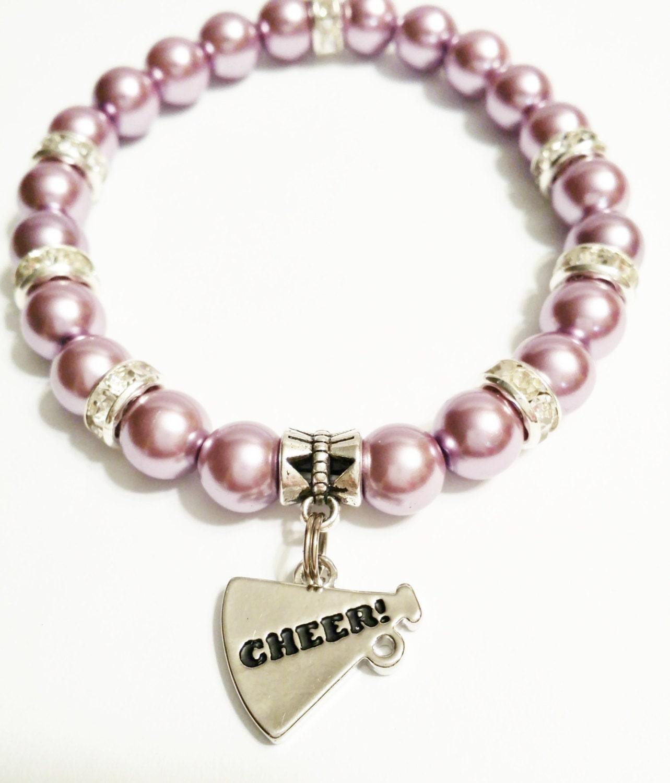 Cheer Charm Bracelets