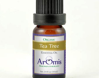 Tea Tree Essential Oil - Certified Organic Malaleuca Alternifolia