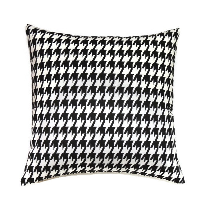 Black Pillows 16x16 Pillow Cover Decorative Pillows Modern