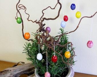 Beautiful little Easter eggs, handmade, 12 pieces