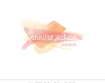 Watercolor Business Logo, watercolor design, photography, watermark, painted,  Newborn logo, maternity logo, watercolor logo, Photography