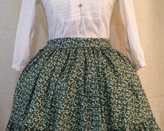 Green Baroque Lolita Skirt