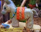 Burro Display  - Southwest display -  Miniature animals - Western scene - beautiful donkey -
