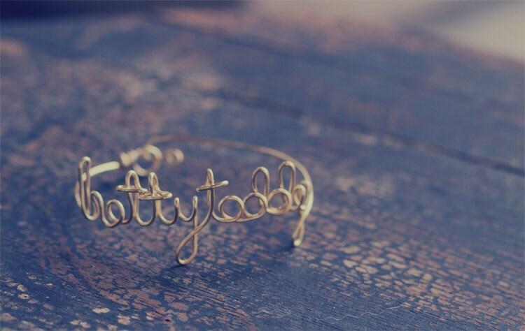 Custom Name Bracelet, Personalized Bracelet, Personalized Jewelry, Bridesmaids Braclets,