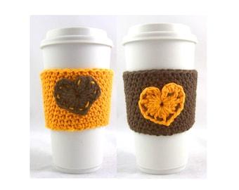 coffee cup sleeve / coffee mug cozy / travel cup sleeve / cup cozy / travel mug cozy / travel mug sleeve / coffee cup sleeve /
