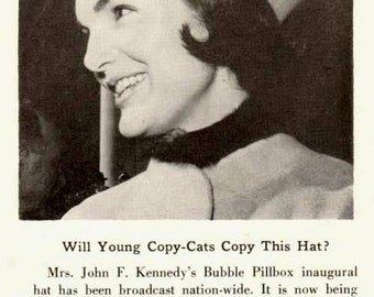 Hats Magazine Feb 1961 Exclusively Millinery American (NY) Publication