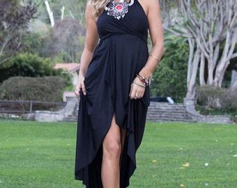 Boho Dress, Maxi dress, Long Dress, Convertible Wrap Dress, Summer Dress, Bohemian Maxi Dress, Vintage Gypsy Dress, Summer Dress