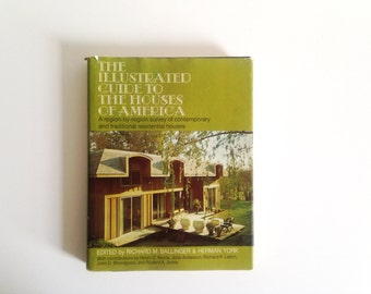 Vintage Book: The Illustrated Guide to Houses in America (1971)