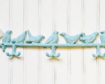 Bird Wall Hooks,Decorative Coat Hook,Bird Hooks,Cast Iron Wall Hooks, Cast Iron Home Decor, Animal Wall Hooks, Coat Hooks, Wall Decor