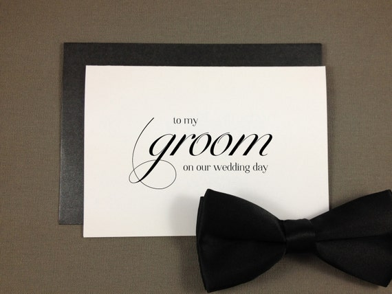 Gift For My Husband On Our Wedding Day: To My Groom On Our Wedding Day I Can't Wait To By Kismetologie