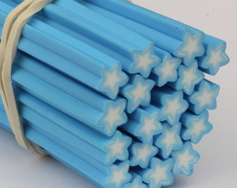 Polymer Clay 003 Nail Art Slices Star Fimo Stick Manicure Decoration Kawaii Canes