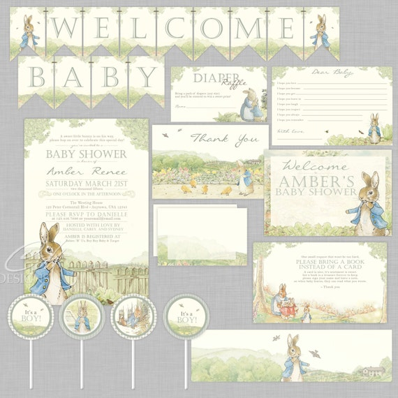 Peter Rabbit Party Supplies Lifes Little Celebration