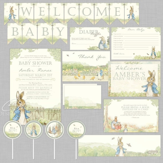Peter Rabbit party supplies - Lifes Little Celebration