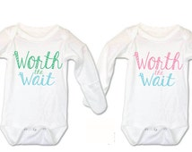 Twins, Twins, Twins Gifts, Boy/Girl Clothing for twins, Twin Outfit, Twin Clothing, Boy/Girl Twin