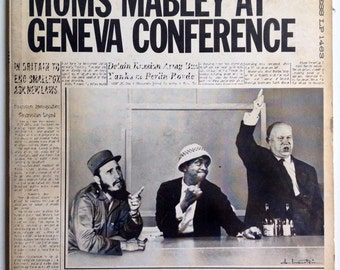 Moms Mabley - Moms Mabley At Geneva Conference LP Vinyl Record Album, Chess - LP 1463, Comedy, Stand-up, Sketch, 1962, Original Pressing