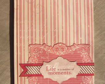 Romantic Shabby chic Journal Diary Notebook Lined pages