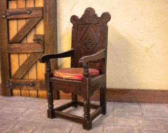 Doll House Period Furniture Chair