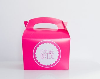 5 x Pink Hen Party Boxes / Hen Night Gift Boxes
