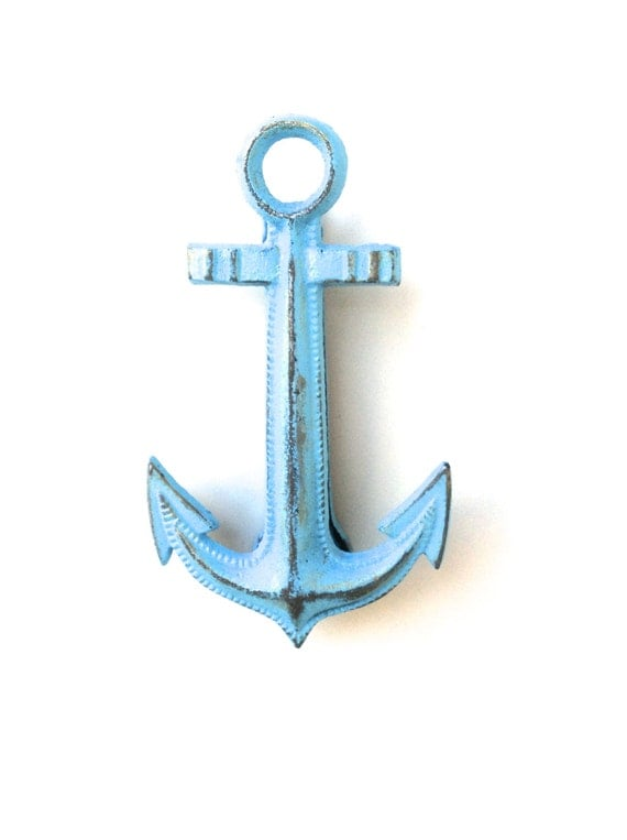 Items similar to nautical decor door knocker nautical anchor nautical door knocker anchor - Anchor door knocker ...