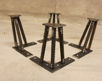 Metal Table Legs- 1/2""
