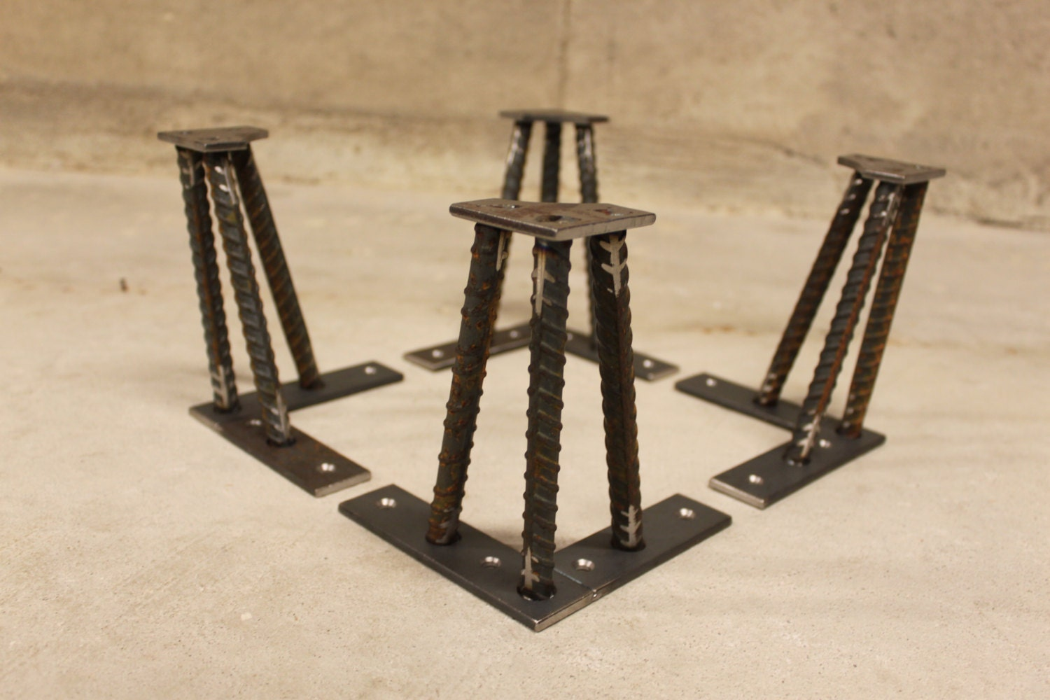 Metal table legs 1 2 for What to use for table legs
