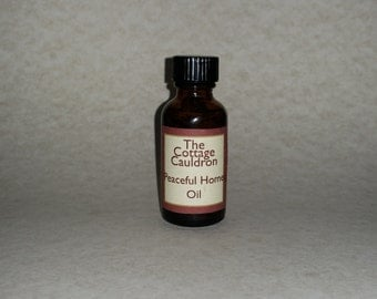 Peaceful Home Annointing Oil 1oz. Bottle