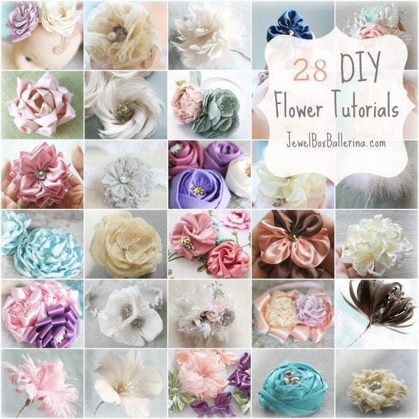 Fabric Flower Wedding Bouquet Tutorial: Wedding Accessories Ideas