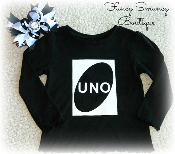Personalized UNO One Birthday Party Shirt By