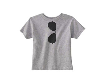 boy shirt, AVIATORS, boy, girl, rocker, grey, cool kid