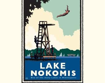 Landmark MN | Lake Nokomis High Dive by Mark Herman