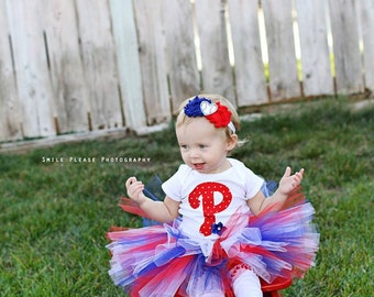 Phillies Baseball Tutu Set