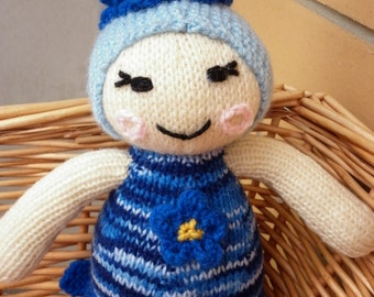 Forget Me Not is another flower power doll and is ready to ship