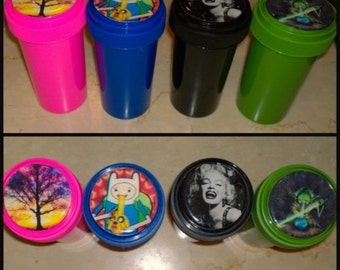 Custom Image - Made To Order Airtight, Moisture Resistant , Smell-proof Containers