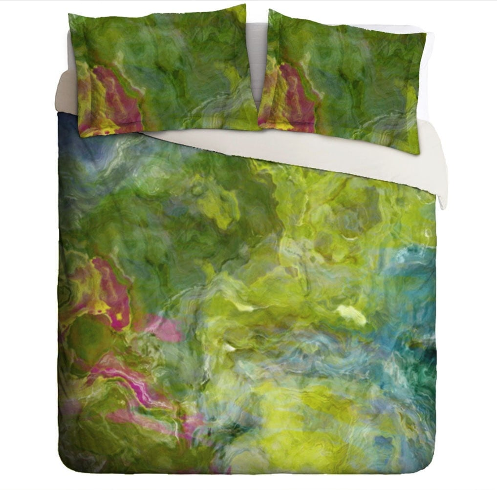Duvet Cover With Abstract Art King Duvet Cover Or Queen Duvet