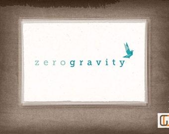 Zero Gravity // Pre-made Logo Design / One Of A Kind Logo Design