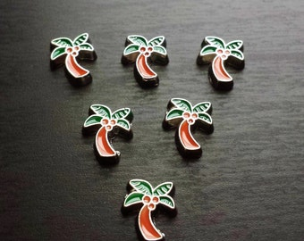 Palm Tree Floating Charm for Floating Lockets-Gift Idea for Women