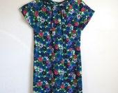 English Garden Vintage Floral Dress - Size S/M
