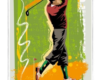 Vintage Golf Poster, Golf Print, Golf Poster, Vintage Golf Print, Golfing Poster, Golfing Print, Golf Art,