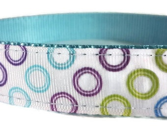 "Bubbles Nylon Dog Collar | 1"" Width Only 