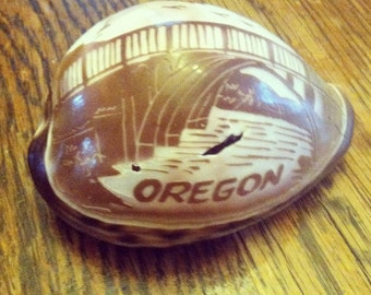 Depoe Bay Oregon Souvineer Shell