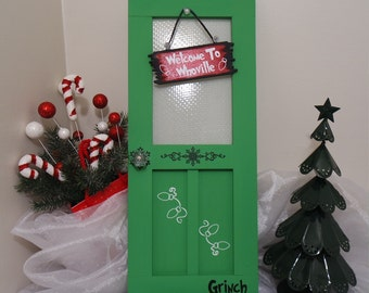 Unique Grinch Wreath Related Items Etsy