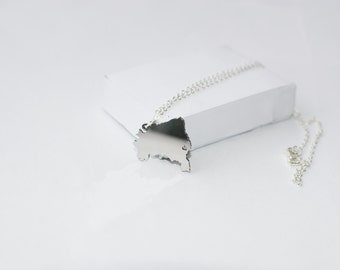 SALE!!! 5 dollars discount from old price!!!Brasil Necklace! Sterling silver chain
