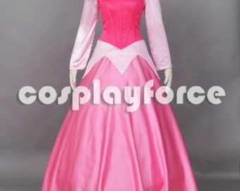 Sleeping Beauty Princess Aurora Cosplay Costume