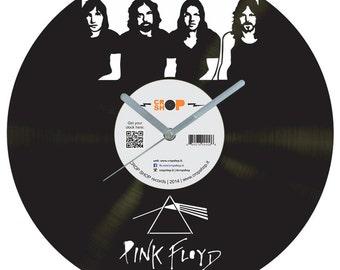 Pink Floyd vinyl clock