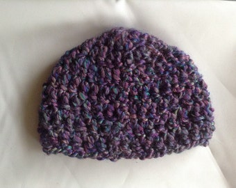 Crochet Pattern Baby Hat Bulky Yarn : Items similar to Bulky Yarn Crochet Pattern for Bulky Baby ...